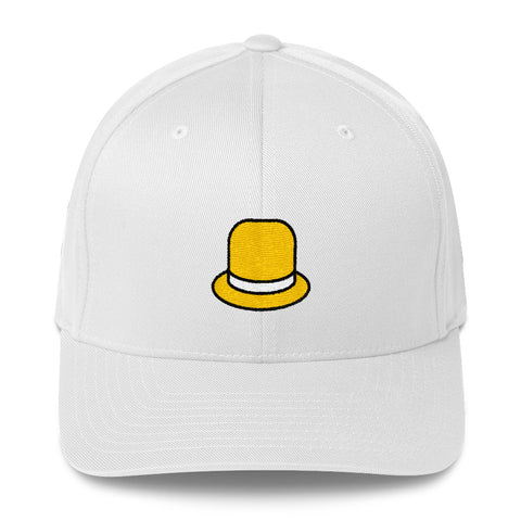 "Actor Parlor ""Yellow Hat"" Structured Twill Cap"