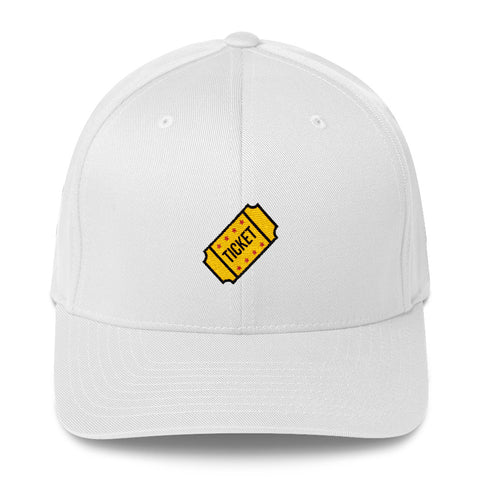 "Actor Parlor ""Ticket"" Structured Twill Cap"
