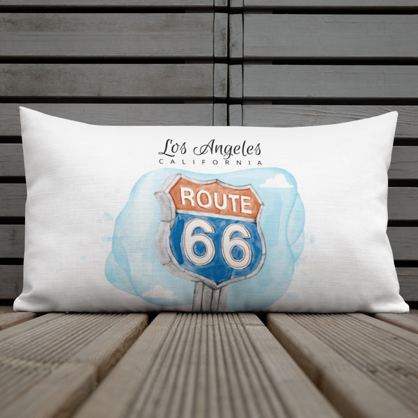 "Actor Parlor ""Route 66"" Premium Pillow"