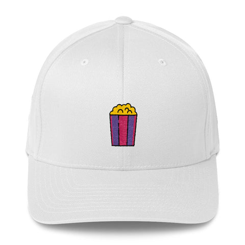 "Actor Parlor ""Popcorn"" Structured Twill Cap"