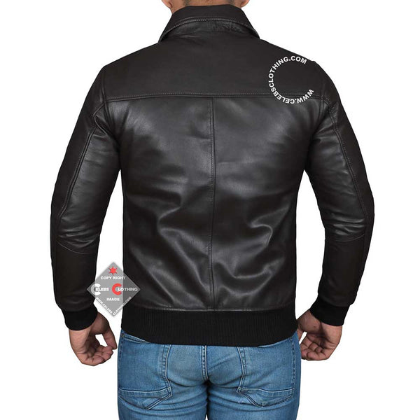 Happy Days Fonzie Real Leather Jacket