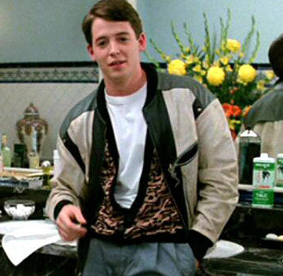 Ferris Bueller Leather Jacket