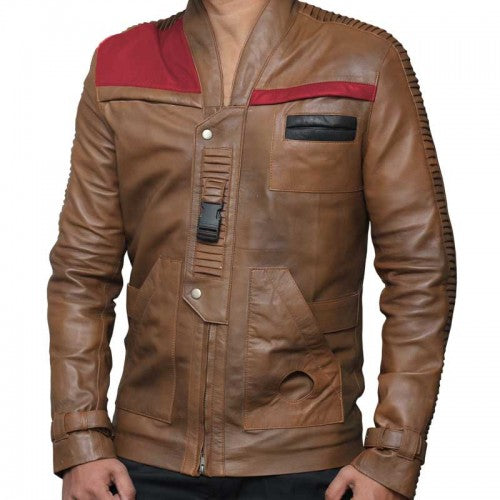 Real Biker Distressed Leather Jacket Men