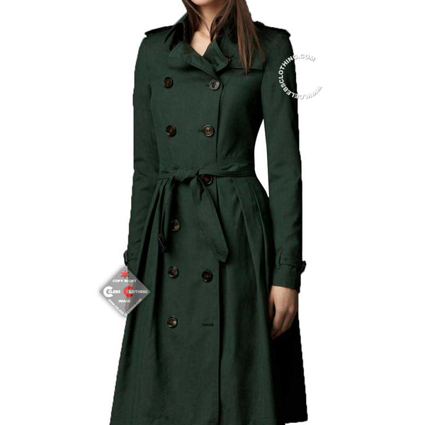Mission Impossible Rebecca Ferguson Green Coat
