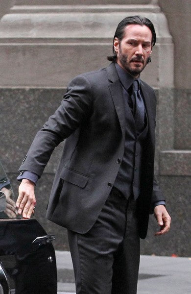 John Wick Keanu Reeves 3piece Suit