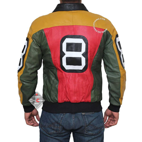 Yellow and Red Jacket For Men