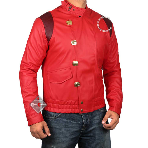 Red Akira Kaneda Leather Jacket