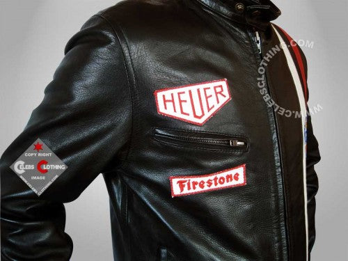 Steve McQueen Le Mans Real Leather Jacket