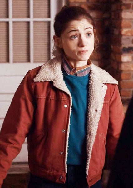 Stranger Things Nancy Wheeler Red Jacket