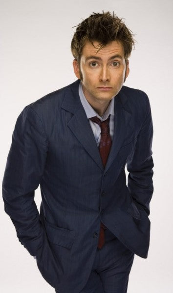 Tenth Doctor Who Blue Suit