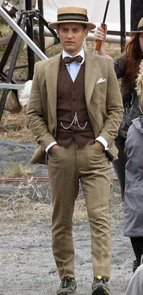 the great gatsby tobey maguire suit  celebscloting