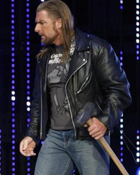 exquisite style pretty cool on wholesale WWE Triple H Leather Jacket