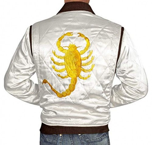 White Lightweight Bomber Jackets For Men