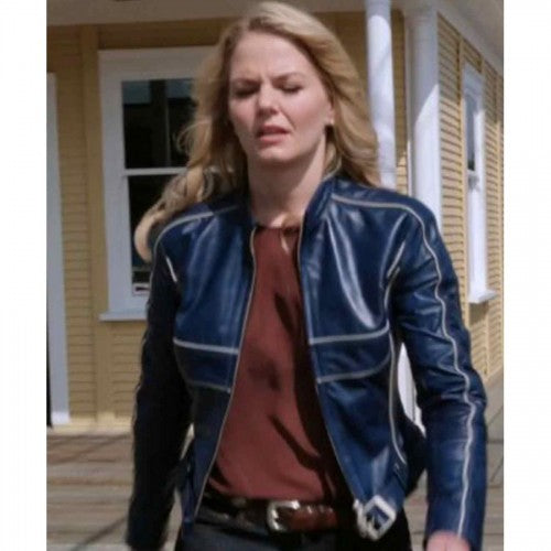 Jennifer Morrison Once Upon A Time Blue Jacket