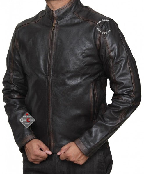 Tom Cruise Jack Reacher Real Leather Jacket