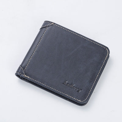 Vintage Men Leather Luxury Wallet