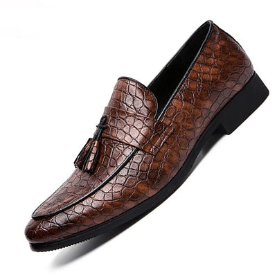 Men Formal Business Brogue Shoes