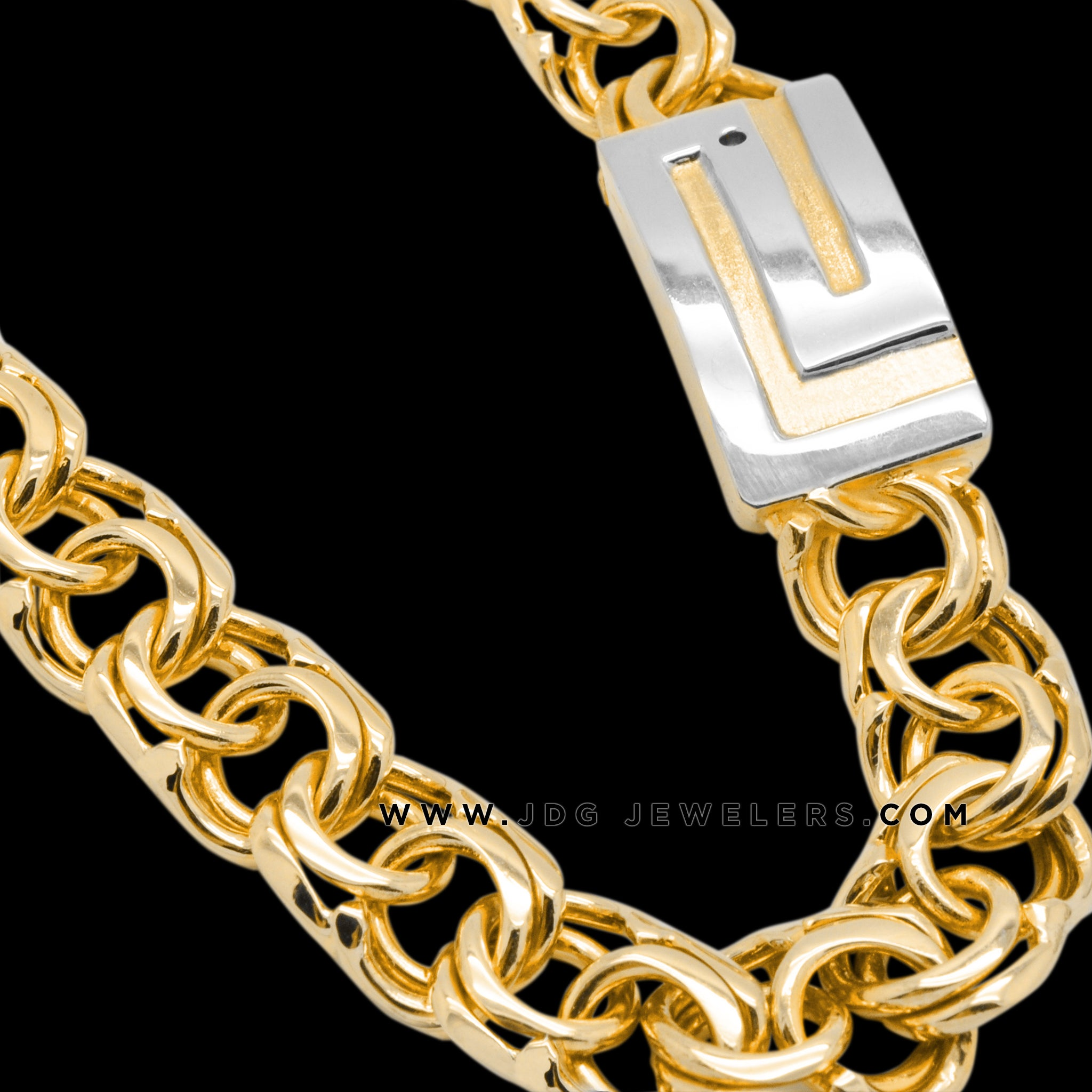 Chino Link Chain with Large Versace