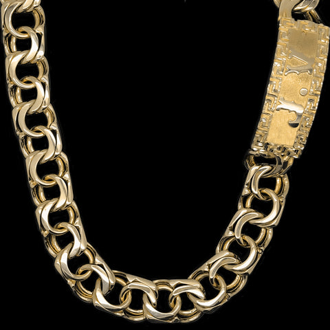 Chino Link Chain with plain Versace