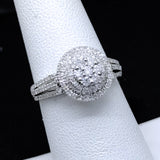 Women's 0.63CTW Diamond Ring in 10KT White Gold