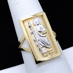Women's St. Jude CZ Ring in 14KT Gold