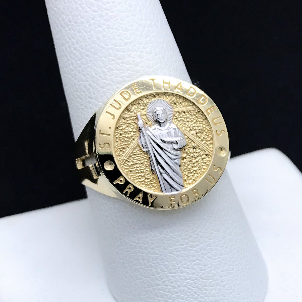Men's St. Jude Ring in 10KT Gold