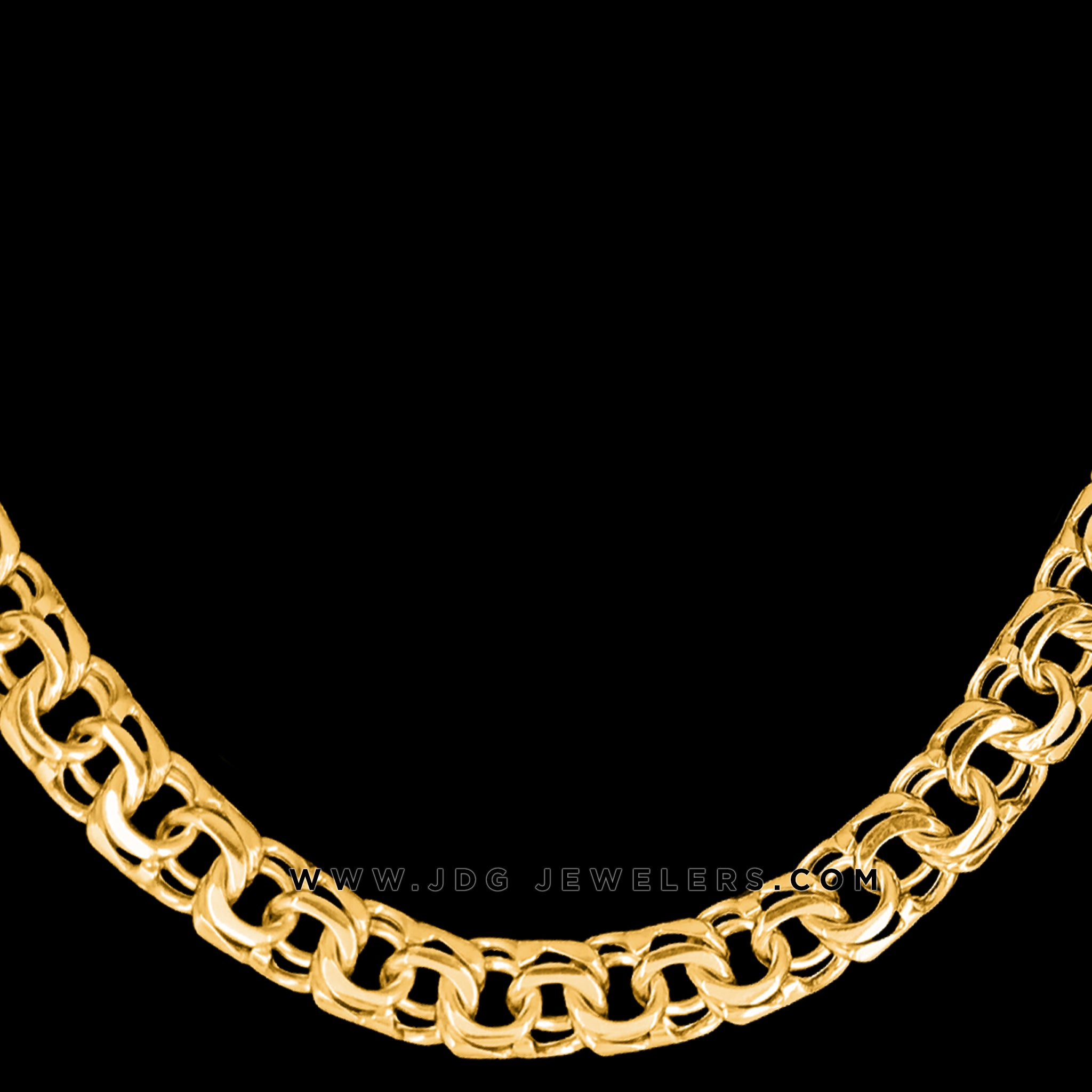 250.0 GR Chino Link Chain with FREE Initials