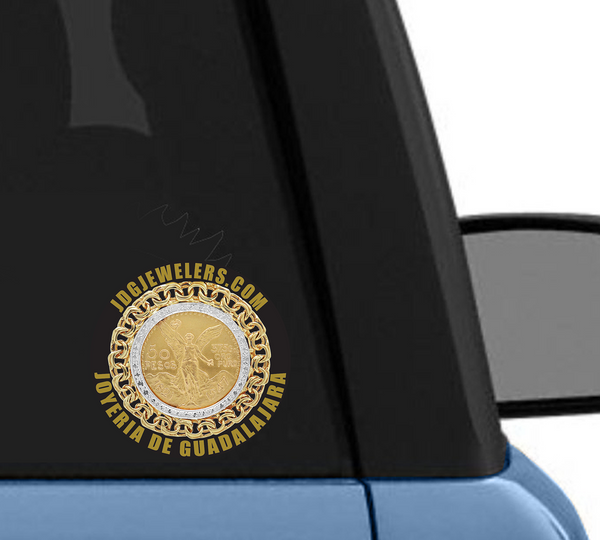 black-centenario-sticker