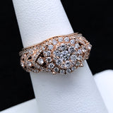 Women's 1.25CTW Diamond Ring in 14KT Rose Gold