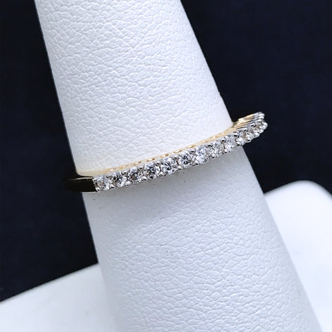 Women's Diamond Band in 14KT Gold