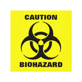 bio hazard wrestling shoe cover