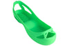 Wrestling shoe covers - Gecko Green - splosheez
