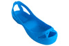Wrestling shoe covers -Neon Blue - splosheez