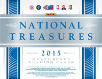 2015 National Treasures Collegiate MULTI-SPORT 4 Box Case Break RANDOM SERIAL NUMBER