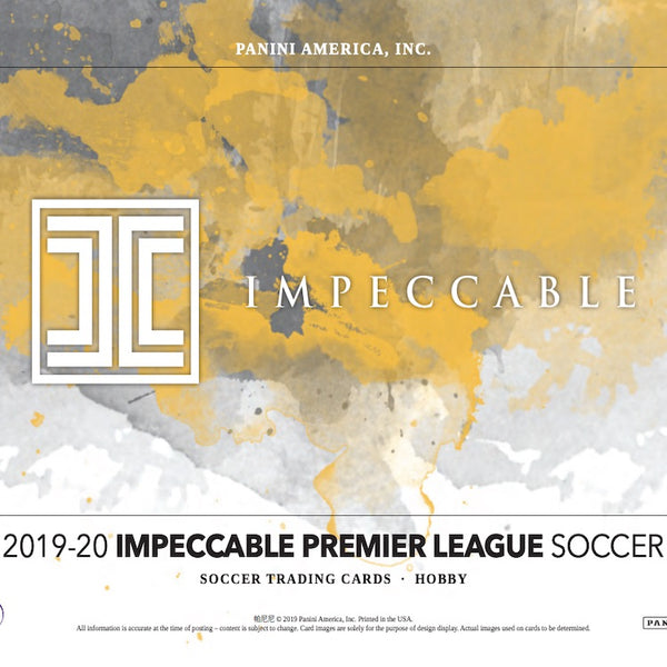 2019-20 Impeccable Soccer Sealed Case