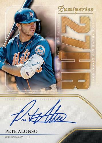 2020 Luminaries Baseball Hobby Box