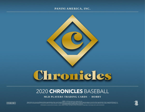 2020 Chronicles Baseball Hobby Box