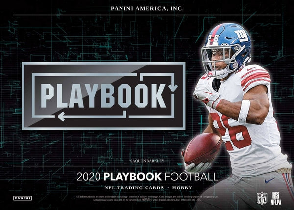 2020 Playbook Football Hobby Box (opened live)