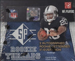2008 UD SP Threads Football Hobby Box (13 Hits on average)