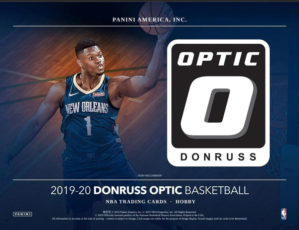 2019-20 Optic Basketball Hobby Box