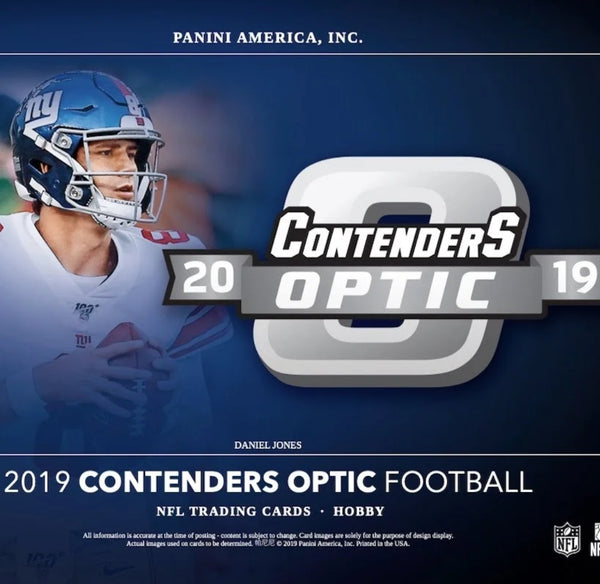 2019 Contenders Optic Football Hobby Box