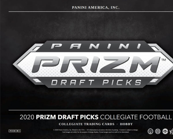 2020 Prizm Draft Picks Football Hobby Box