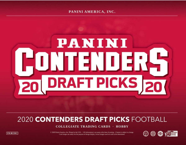 2020 Contenders Draft Football Hobby Box
