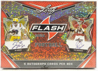 2020 Leaf Flash Football Hobby Box