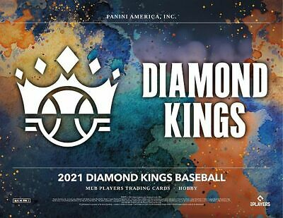 2021 Diamond Kings Baseball 24 Box Sealed Case