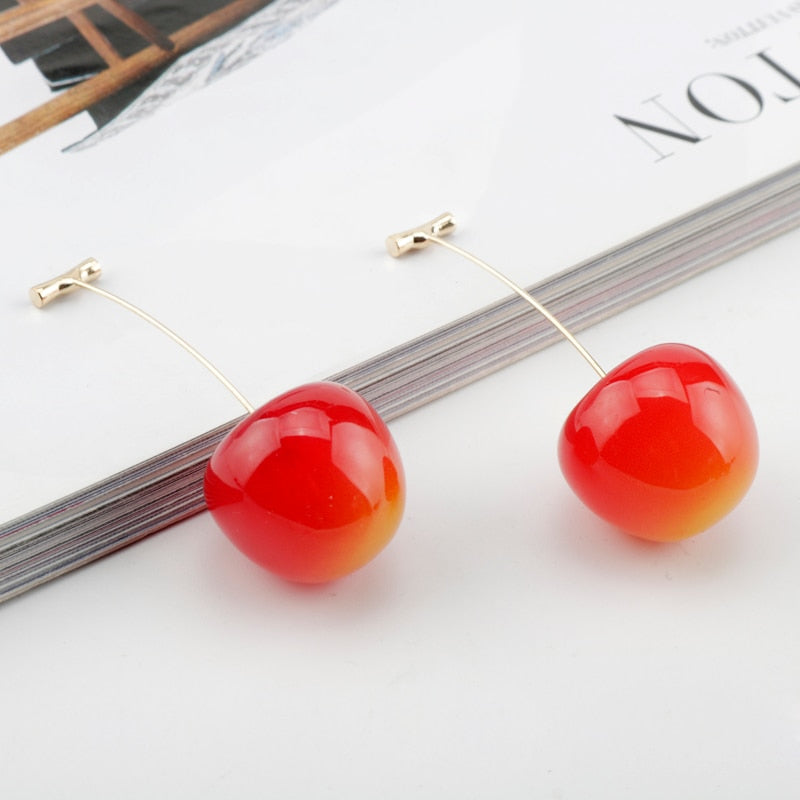 Jojos Bizarre Earrings Fruit Shape Dangle Earrings