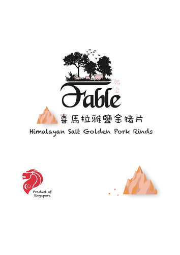 Fable Pork Rinds - Pink Himalayan Salt