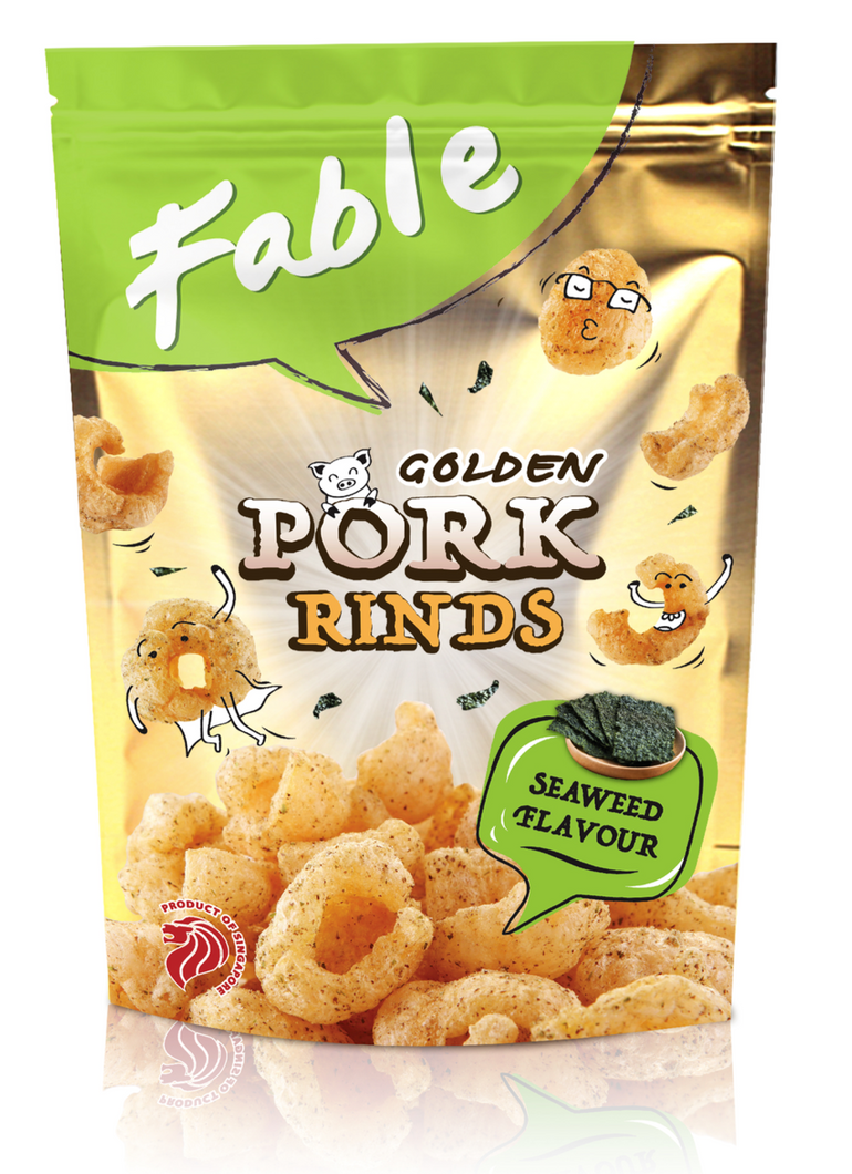 Fable Pork Rinds - Seaweed