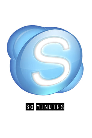 30 Minutes: Skype Time