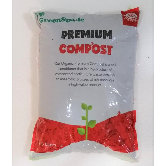NF006 GreenSpade Premium Compost | Fertiliser